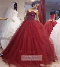 burgundy quince dresses cheap sparkly beaded tulle gown quinceanera dresses major