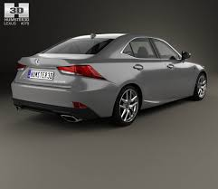 lexus sport models 2017 lexus is xe30 200t f sport 2017 3d model hum3d