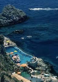 Hotel Du Cap Eden Roc Slim Aarons Hotel Taormina Pool Photograph For Sale At 1stdibs