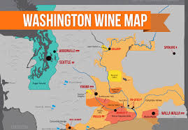 get to washington wine country map wine folly