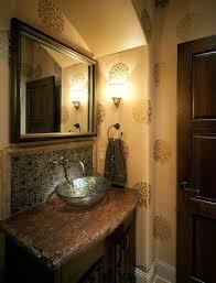 Craftsman Bathroom Vanities Chiseled Edge Granite Bathroom Mediterranean With Granite Vanity
