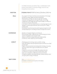 Resume To Work Careers U2013 Wmb Architects Inc