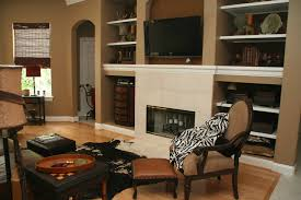 awesome paint color ideas for living room with brown furniture