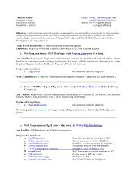 Job Profile In Resume by Vaseem Ansari Sse Resume 8 Years Working Experience In Php Mysql Jq U2026
