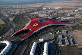ferrari building world in abu dhabi dubai ferrari museum and park