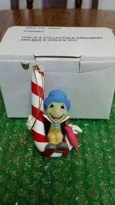grolier disney magic scrooge ornament in original