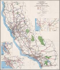 Sacramento State University Map by California Freeway And Expressway System January 1971 David