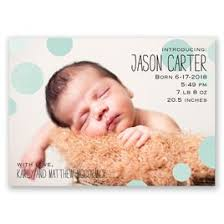 birth announcements dots birth announcement magnet invitations by