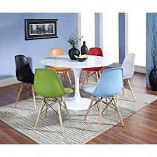 eames chair side table eero saarinen 48 tulip table and charles and ray eames chair set