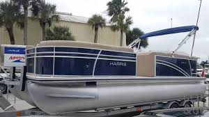 2017 harris 230 cruiser pontoon boat for sale at the marinemax