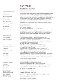 Clinical Resume Examples by Healthcare Assistant Cv Sample Clinical Resume Cv Examples