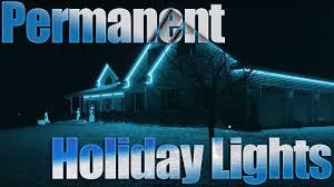 permanent led christmas lights permanent christmas lights rgb led strip diy christmas