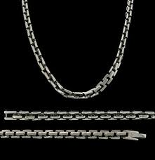 mens chains necklace images Mens titanium necklace titanium chain for men jpg