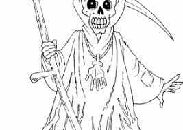 scary coloring pages page 2 of 3 coloring4free com