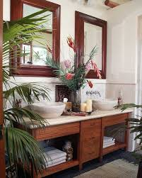 Tropical Bathroom Accessories by Details About Tropical Floral Bath Accessories 5pc Hawaiian