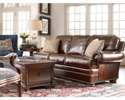 Thomasville Benjamin Leather Sofa by Thomasville Living Room Furniture All Locations Wonderfull
