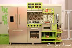 homemade play kitchen ideas lifestyle deluxe kitchen kids play step2 image kitchens for