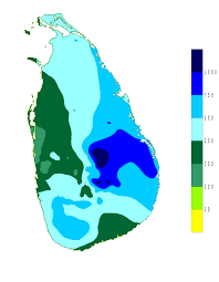 Sri Lanka On World Map by Climate Of Sri Lanka