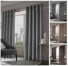 Curtains 90 Width 72 Drop Crushed Velvet Curtains Ebay