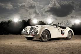 jaguar car wallpaper white sports retro car jaguar xk120 1950 wallpapers and images