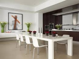 Kitchen And Dining Room Layout Ideas Kitchen And Dining Room Decorating Ideas Modern Home Interior Design