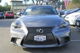 lexus is350 toyota pre owned 2016 lexus is 350 is 350 sedan 4dr car in san jose