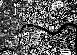 Map Art Film London Map Art Print 2017 Edition Run For The Hills