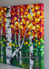 best 25 fall tree painting ideas on aspen trees fall