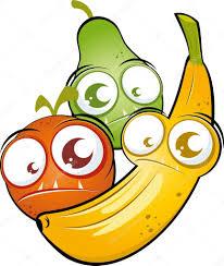 funny cartoon fruit u2014 stock vector shockfactor de 12421364