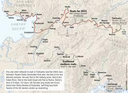 Iditarod Map Iditarod Restart In Fairbanks Has Communities Regrouping And