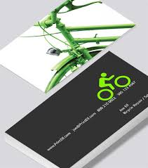 Bicycle Business Cards Bicycle Repair And Sales Business Card Modern Design