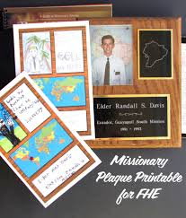 missionary plaques printable the mormon home