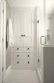 White Linen Cabinets For Bathroom Cool Best 25 Bathroom Linen Cabinet Ideas On Pinterest Cabinets