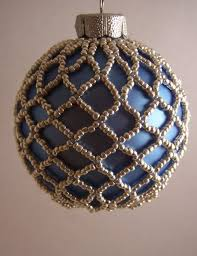 Easy Beaded Christmas Ornaments - beaded christmas ornaments free patterns beaded ornament