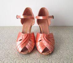 designer stiletto heels vintage 40s bonwit teller designer deco blue