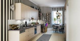 Black And White Striped Kitchen Rug Design Ideas Monochrome Elegance 30 Black And White Striped Rugs