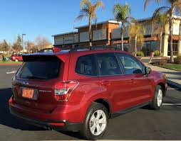 subaru forester red 2016 subaru forester reliable compact suv tahoe ski world
