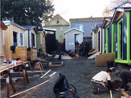Tiny Homes Near Me Tiny Homes Give Homeless People A Place To Live Business Insider