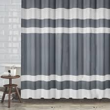 Hotel Quality Shower Curtains Hotel Quality Fabric Shower Curtain With White Weave