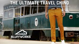 Travel Clothing Wrinkle Free The Ultimate Travel Chino By Bluff Works By Stefan Loble U2014 Kickstarter