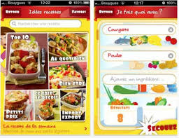 application recettes de cuisine appli maggi iphone les recettes du zéro gâchis