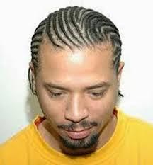 corn row braided haircuts for men with long hair