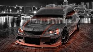 jdm mitsubishi evo 4k mitsubishi lancer evolution jdm tuning crystal city car 2015