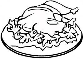 thanksgiving food coloring pages coloring pages