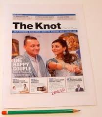 Newspaper Wedding Program The 25 Best Wedding Newspaper Ideas On Pinterest Day News