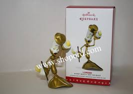 hallmark 2016 limited quantity lumiere disney and the beast