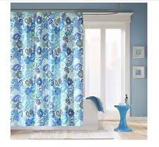Blue Paisley Shower Curtain Unbranded Paisley Shower Curtains Ebay