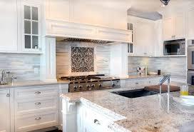 backsplashes for white kitchens kitchen elegant stone kitchen backsplash with white cabinets