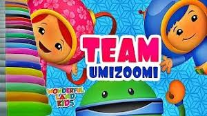 team umizoomi shark car draw colour coloring pages kids