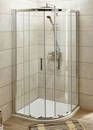 Pacific Shower Doors Pacific Sliding 2 Door Quadrant Shower Enclosure